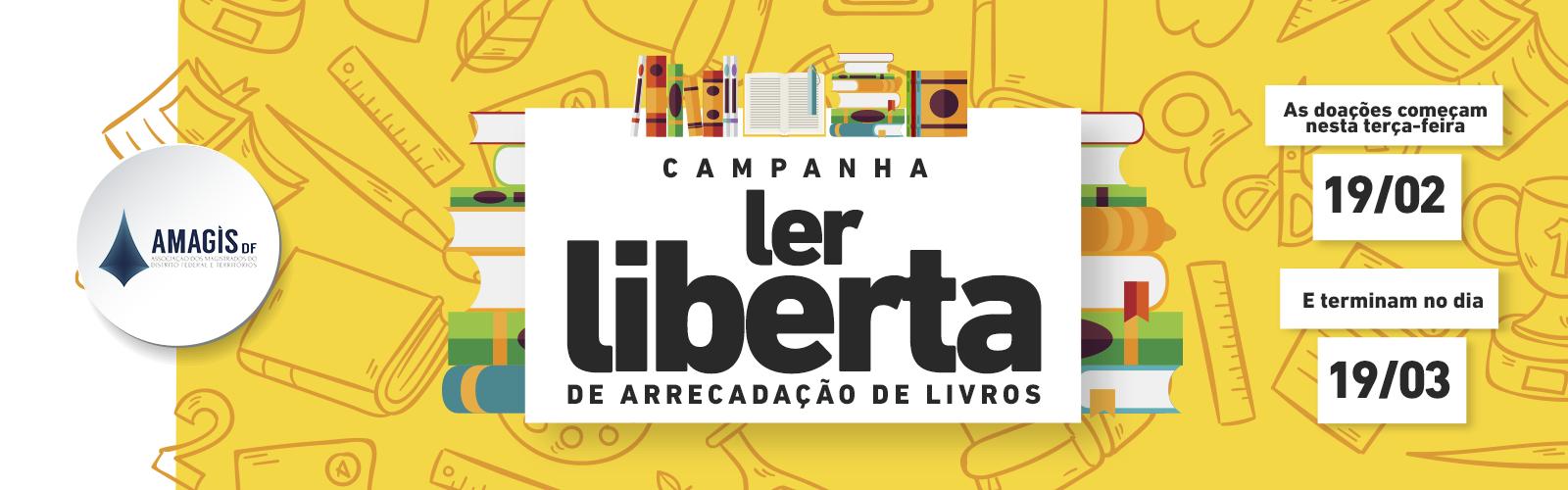 Campanha Ler liberta